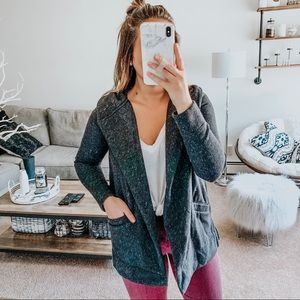 LOFT Hooded Cardigan